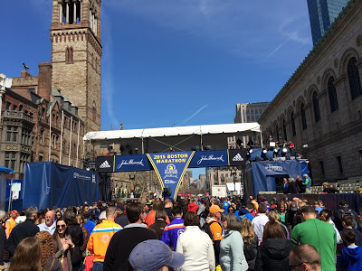 Boston Marathon Finish Line - Photo Credit Justin Ferguson